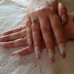 Stiletto nail enhancements - After