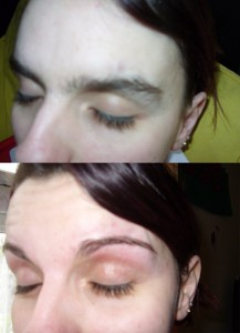 Eyebrows - Before & After